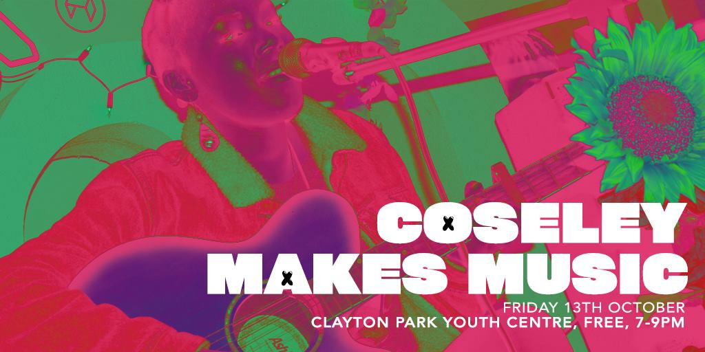 Coseley makes music